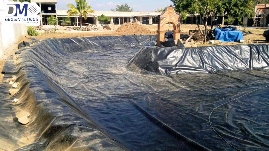 Pasos para la construcci n de un lago artificial con for Como construir un lago artificial